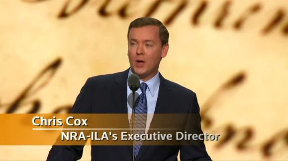 Chris Cox, Executive Director of NRA Institute for Legislative Action