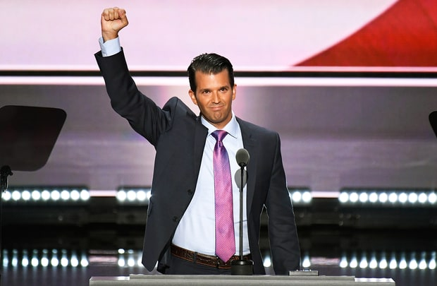 Donald Trump, Jr., Son of Donald Trump and EVP, The Trump Organization