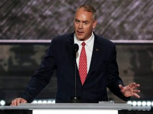 U.S. Representative Ryan Zinke (MT)