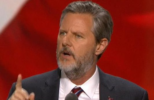Jerry Falwell, Jr., President of Liberty University and evangelical leader