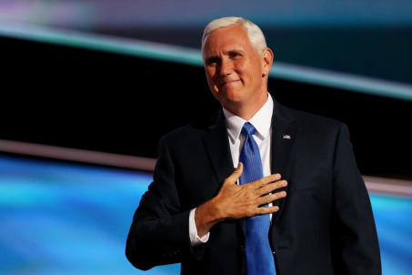 Indiana Governor Mike Pence, Candidate for Vice President