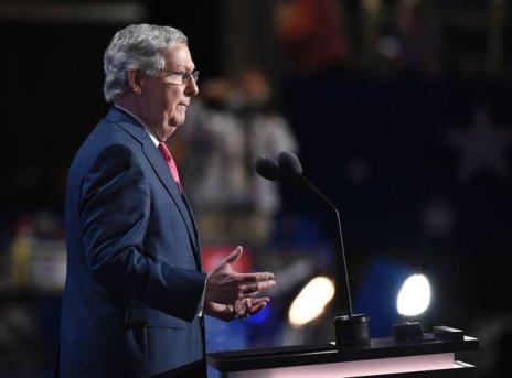 U.S. Senate Majority Leader Mitch McConnell (R-Kentucky)