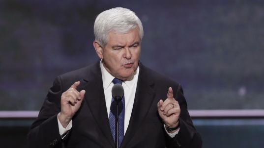 Newt Gingrich, Former Speaker of the U.S. House of Representatives