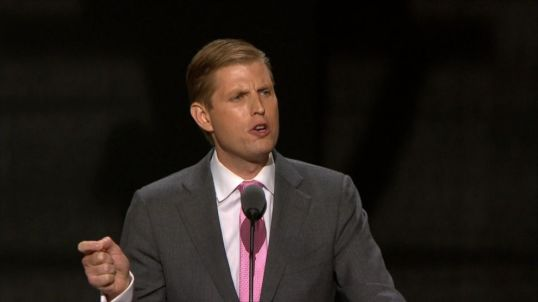 Eric Trump, Executive Vice President of The Trump Organization